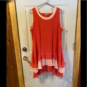 Dress or Tunic Top made by Nandmade size XL